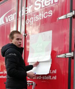 Eerste Lean & Green Ster voor Van der Stelt