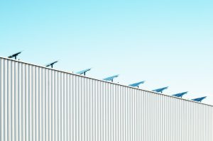 Warehousing zonnepanelen