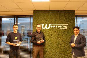 Lean & Green Star uitreiking Wesseling Transport