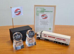 2e Lean & Green Star voor Bakker Logistiek